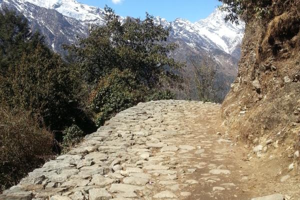 Der Everest Trek beginnt