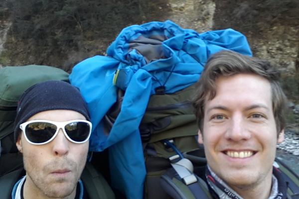 Rüdiger und ich