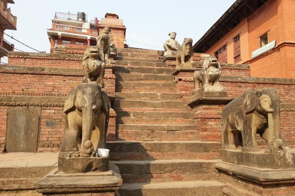 Bhaktapur liegt 16km östlich von Kathmandu