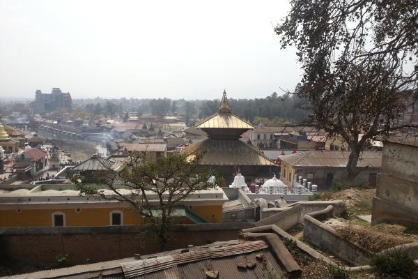 Blick über Pashupatinath