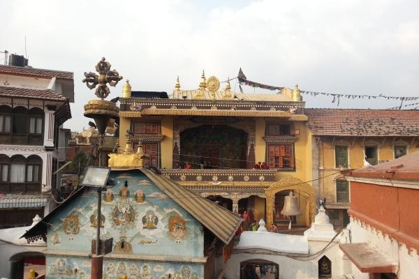 Blick von der Stupa
