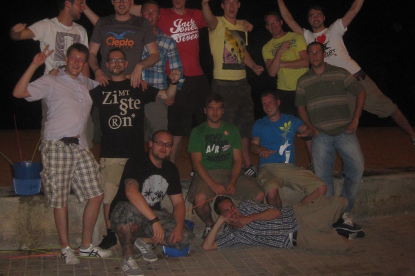 Junggesellenabschied von Swen auf Malle in 2011
