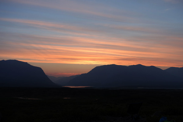 Sonnenaufgang am Denali Highway