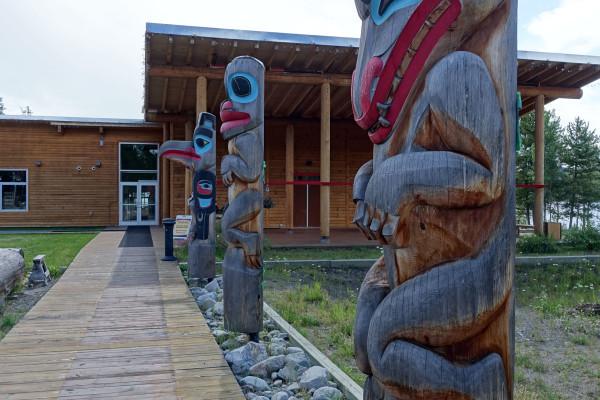 Totems der Tlingit
