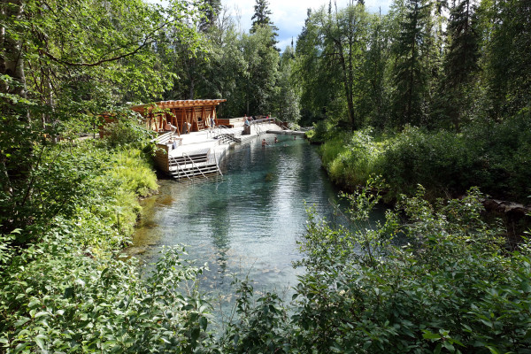 Die Liard RIver Hot Springs