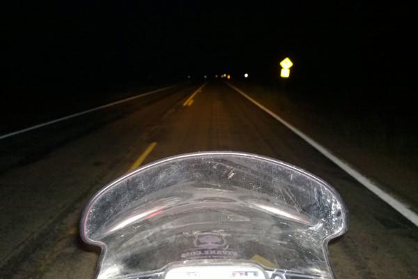 Fahren bei Dunkelheit