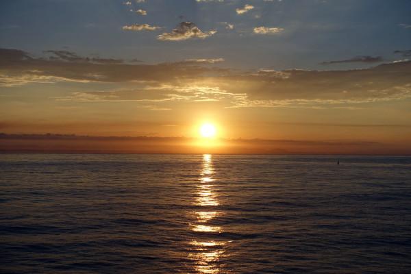 Sonnenaufgang vor Mazatlán