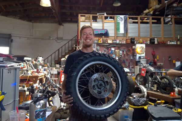 Mein erster selbst aufgezogener Reifen