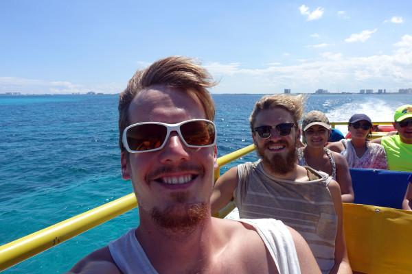 Überfahrt zur Isla de Mujeres
