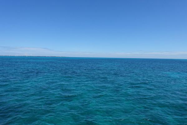 vor der Isla de Mujeres
