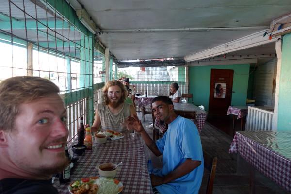 Constantin, Harry und ich