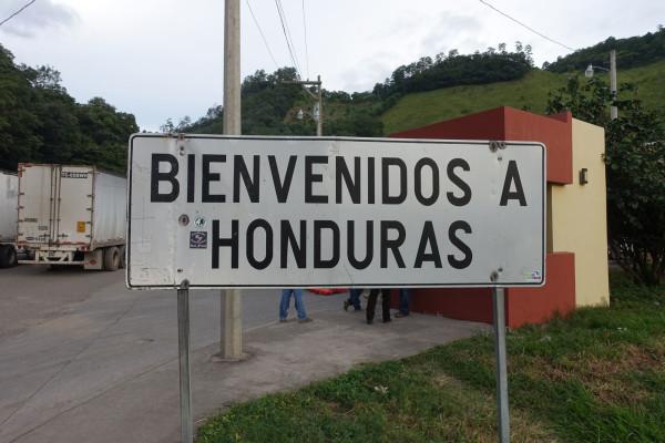 Grenze zu Honduras