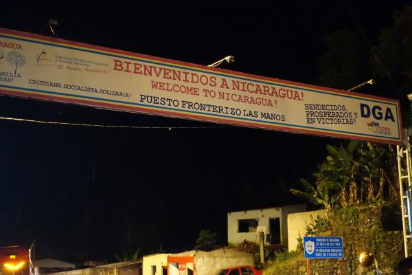 Grenze zu Nicaragua
