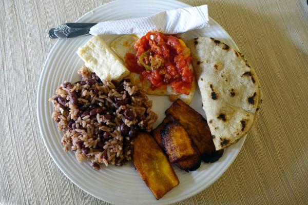 Nicaraguanisches Frühstück