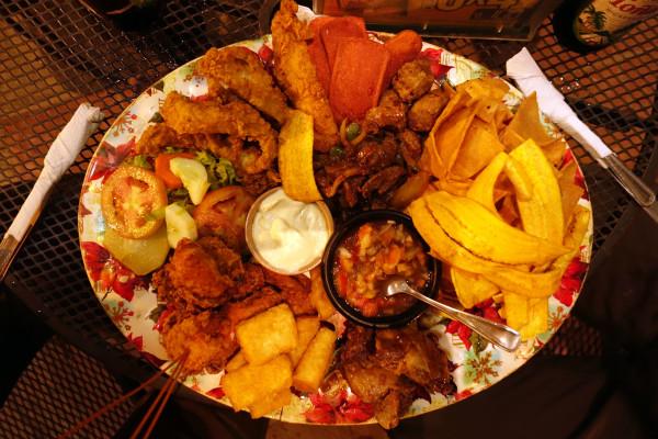 Typisches Essen aus Nicaragua