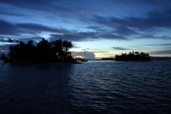 Zum Sonnenaufgang.