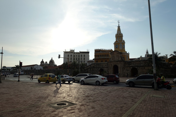 in Cartagena.