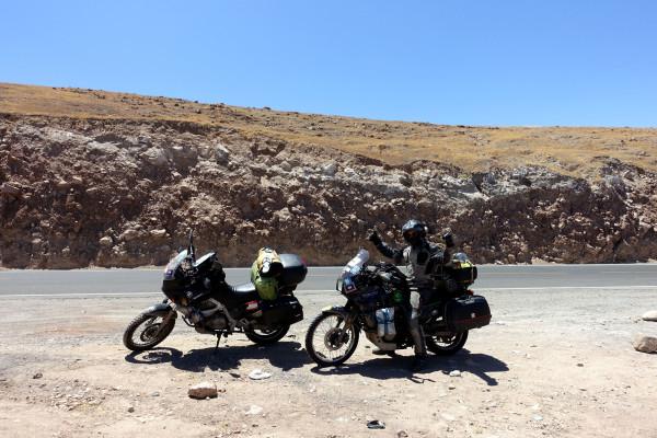 durch die Anden