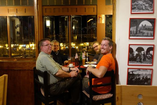 Abendessen mit den Vätern