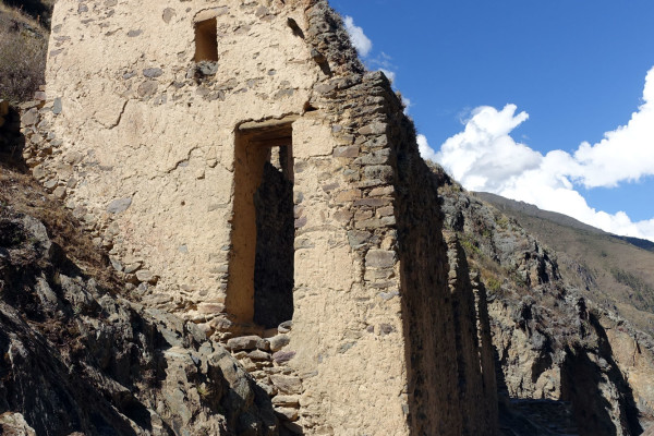 Vorratsspeicher der Inka