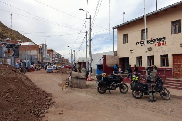 Ausreise aus Peru
