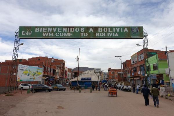 Der Grenzübergang nach Bolivien