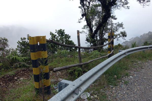 auf dem Camino de la Muerte