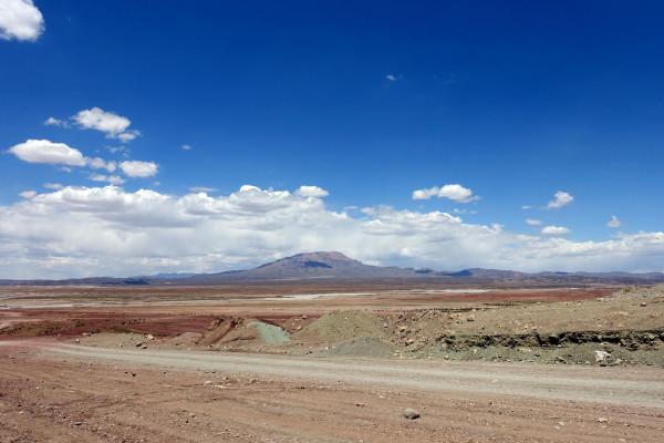Die bolivianische Wüste