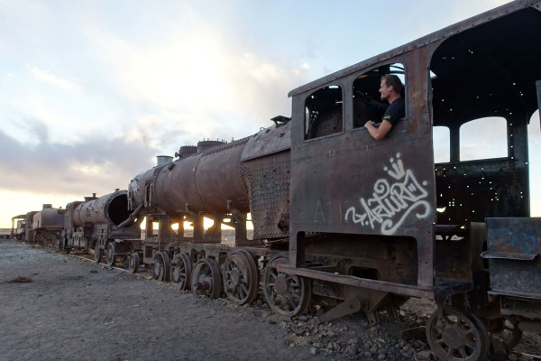 Friedhof der Züge