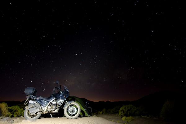 Sternenhimmel in den Anden