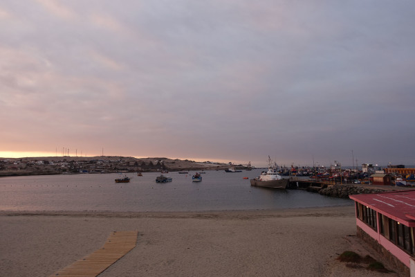 Sonnenuntergang in Caldera