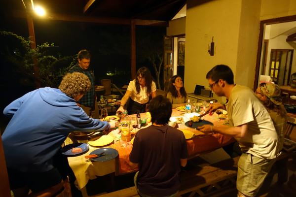 Abendessen bei Paulina