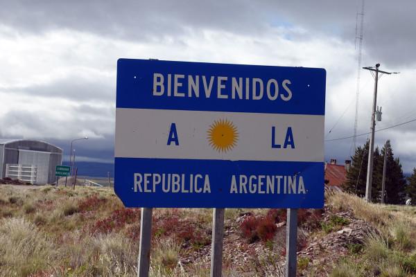 Grenze nach Argentinien