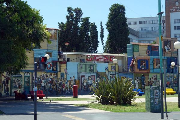 Eingang in den Stadtteil La Boca