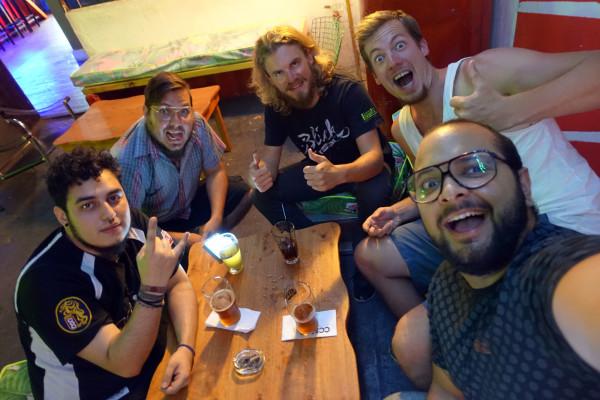 Alejandro, Diego, Constantin, Ich und Leo
